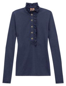 Tory Burch Button Down Shirt navy