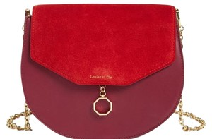 Louise et Cie Louis Suede And Shoulder Bag