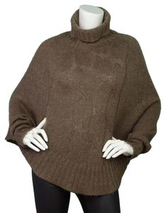 Theory Wool Cape Turtleneck Sweater