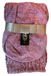 Mix It Two Peice Fall Winter Scarf Set Lilas Pink By Mix It