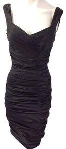 CACHE Designer Dress Size 4 Small S 2 6 Black Bodycon Sundress Formal Maxi M XS Dress