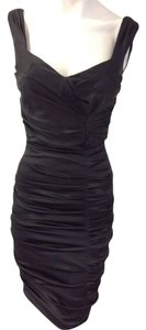 Cache Black Body-con Dress