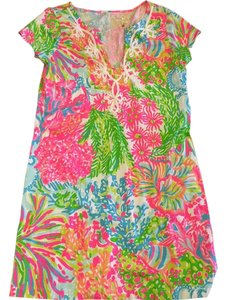 Lilly Pulitzer short dress Lovers Coral on Tradesy
