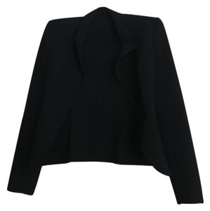 Buttons Fitted black Blazer