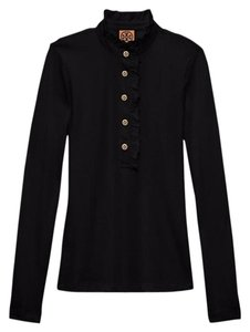 Tory Burch Button Down Shirt black