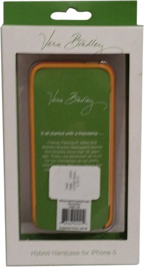 Vera Bradley NWT Whimsy Hybrid Hardshell Clementine for iPhone 5