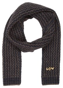 Louis Vuitton Knit Scarf with LV Embellishment