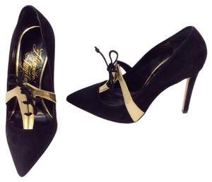 Alejandro Ingelmo Black/Gold Pumps