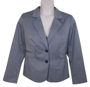 Fashion Bug Professional Career Size 18 Gray Blazer