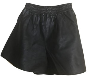 The Fifth Label Leather Pockets Shorts black