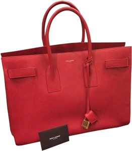 Saint Laurent Tote in Red