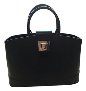 Louis Vuitton Satchel in BLACK EPI