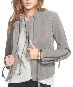 Free People Faux Leather Steel Mill Leather Jacket