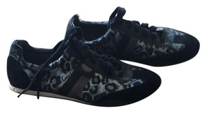 Coach Black/sliver cheetah print Athletic