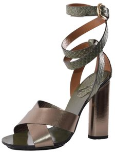 Gucci Heels Green Sandals