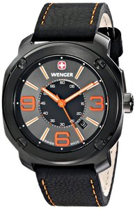 Wenger Wenger Men's 01.1051.107 Escort Analog Display Swiss Black Watch
