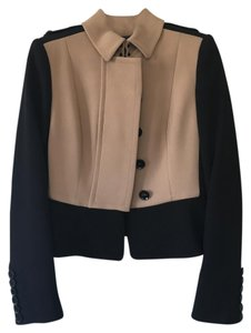 Burberry Prorsum Black and Tan Jacket