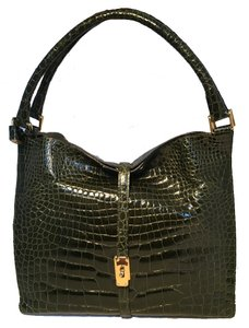 Titti Dell'acqua Alligator Alligator Satchel Alligator Vintage Alligator Alligator Shoulder Bag