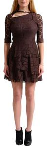 Versus Versace short dress Brown on Tradesy