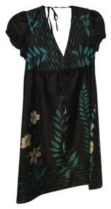 Guess short dress Black Floral on Tradesy