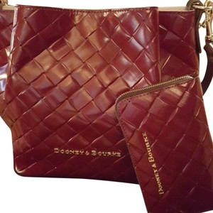 Dooney & Bourke Satchel in Rich Merlot