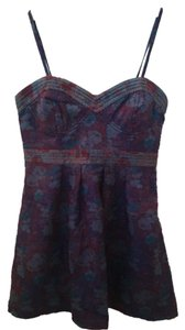 Free People short dress Purple Tapestry on Tradesy