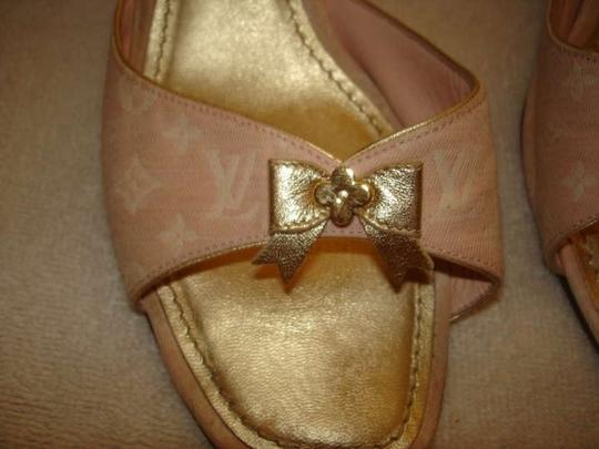 Louis Vuitton Monogram pink Sandals