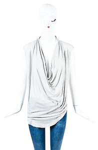 Helmut Lang Light Slub Top Gray
