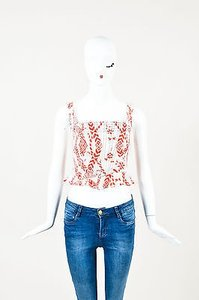 Vivienne Westwood Anglomania Top Red
