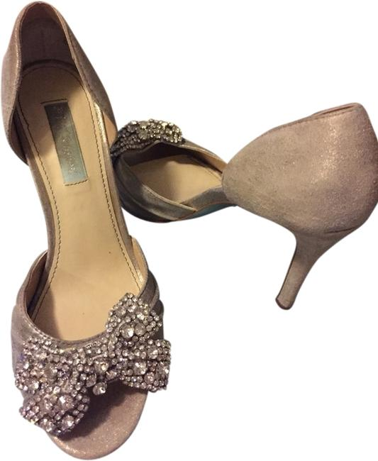 """Item - Silver """"The Gown"""" Formal Shoes Size US 7.5 Regular (M, B)"""