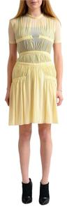 Versus Versace short dress Light Yellow on Tradesy