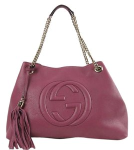 Gucci Soho Tote in Pink