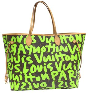 Louis Vuitton Lv Limited Edition Large Tote Shoulder Bag