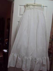 Bridal Slip With Tulle