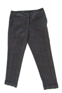 Isda & Co. Co Straight Leg Trouser Pants Gray
