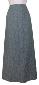 Kasper & Company ASL & Long Maxi Skirt Sage Green