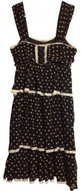 Preload https://img-static.tradesy.com/item/19592/marc-jacobs-black-gold-polka-dot-tiered-cotton-above-knee-short-casual-dress-size-6-s-0-0-650-650.jpg