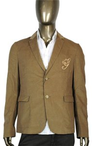 Gucci Men's Corduroy College Brown Blazer