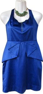 BCBGeneration Zipper Ruffles Homecoming Dress