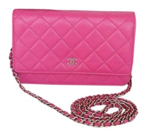Chanel Caviar Woc Cross Body Bag