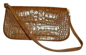 Anne Klein New Leather Alligator Skin Shoulder Bag