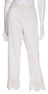 Chanel Capri/Cropped Pants White