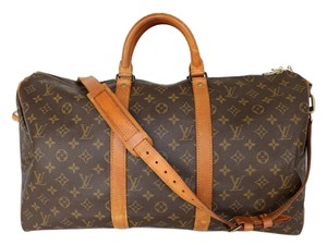 Louis Vuitton Keepall Monogram Travel Bag