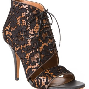 Givenchy Leather Up Lace Sandals