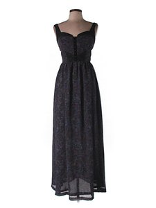 Maxi Dress by Free People Floral Cut-out Sleeveless