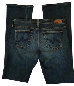 AG Adriano Goldschmied Designer Size 29 Denim Boot Cut Jeans-Medium Wash