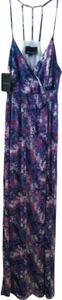 Purple Maxi Dress by Cynthia Rowley