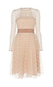 Temperley London Sheer Polka Dot Girly Princess Dress
