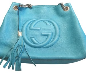 Gucci Tote in Turquoise