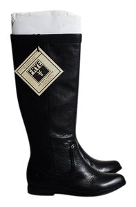 Frye Cindy Slouch Boot Black Boots
